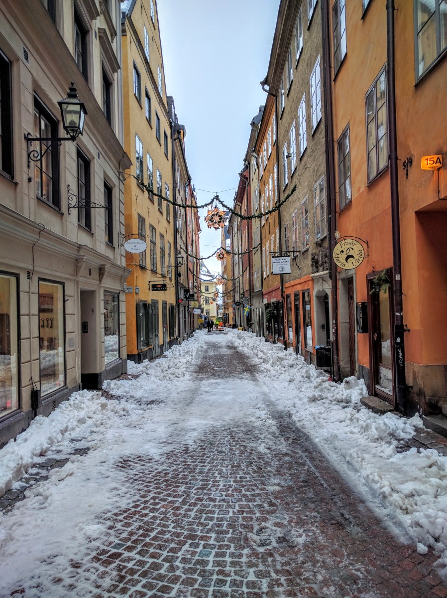 stockholm in the snow - photo #3